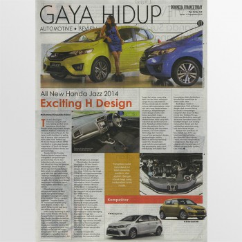 Indonesia Finance Today - 12 September 2014