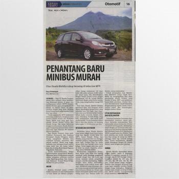 Koran Tempo - 09 February 2014