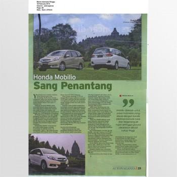 Bisnis Indonesia Minggu - 16 February 2014