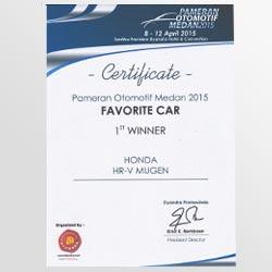 Pameran Otomotif Meda 2014 - Favourite Car