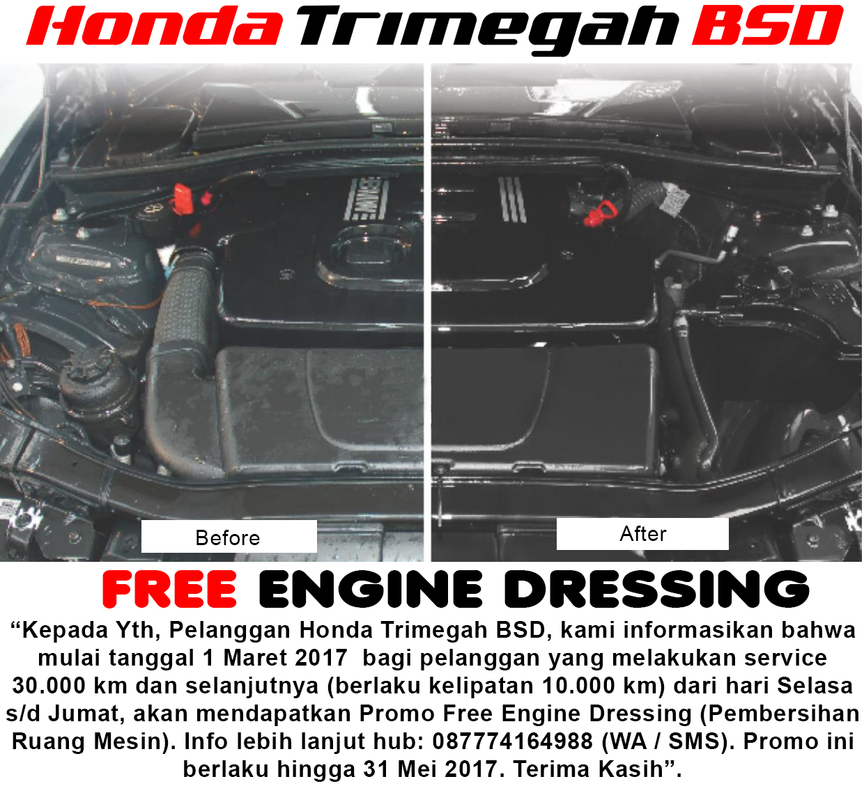 engine dressing htb