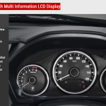 Meter Cluster With Multi Informastion LCD Display